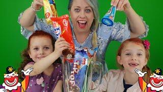 Download Sofie Melody och Chanell testar Milkshake med GB-glassar Video