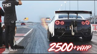 Download 2500HP GTR on RAILS into the 6's! Video