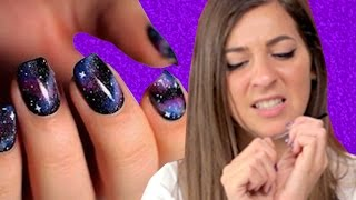 Download Regular People Try Pinterest Nail Art Video