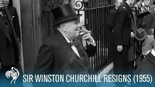 Download Sir Winston Churchill Resigns (1955) | British Pathé Video