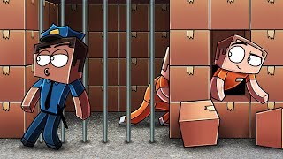 Download Minecraft | ESCAPING A BOX FORT PRISON - Riot to Breakout! (Box Fort Prison) Video