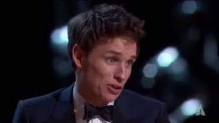 Download Eddie Redmayne winning Best Actor Video