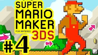 Download SUPER MARIO MAKER FOR 3DS # 04 ★ Weird Mario & Cape-Flugtraining! [HD60] Video