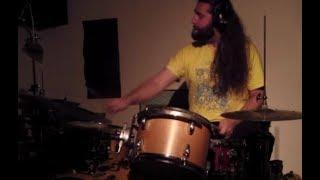 Download Wake 'N Break No. 1321 - Fat Tom & Cymbal Backbeat w/ Ghosted Snare | Andrew McAuley (KindBeats) Video
