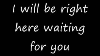 Download I will be right here waiting for you - Richard Marx with lyrics Video