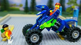 Download Lego Experimental Cars , Rex's Rex treme Offroader from The LEGO MOVIE 2 Video
