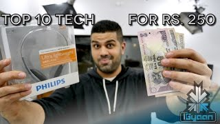 Download Top Tech For Rs 250 : Budget Technology Shopping List 3 - iGyaan Video