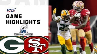 Download Packers vs. 49ers NFC Championship Highlights | NFL 2019 Playoffs Video