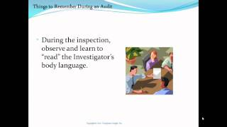 Download FDA Inspection Do and Don't List Video
