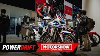 Download 2020 Honda Africa Twin CRF1100L – Lighter, Faster and Meaner : 2019 Tokyo Motor Show : PowerDrift Video