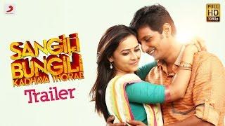 Download Sangili Bungili Kadhava Thorae - Official Tamil Trailer | Jiiva, Sri Divya, Soori | Atlee Video