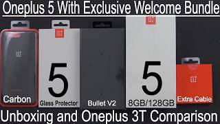 Download Oneplus 5 With Exclusive Welcome Bundle Unboxing & Oneplus 3T Comparison (Coupon Below) Video