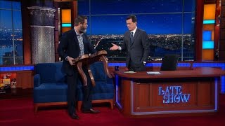 Download Nick Offerman Built A Table For The Late Show Video