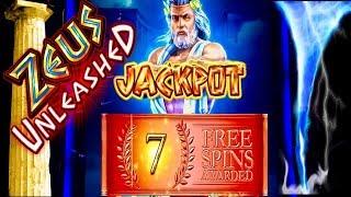 Download Major Jackpot! ZEUS UNLEASHED! Slot Machine Bonus and Multiple Feature action!! Video