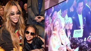 Download Blue Ivy Carter Bid $19K On Art At Auction With Beyonce & Jay Z Video