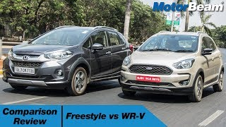 Download Ford Freestyle vs Honda WR-V - Comparison Review | MotorBeam Video