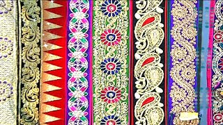 Download Latest and Modern Designer Laces For Sarees and Dresses Video
