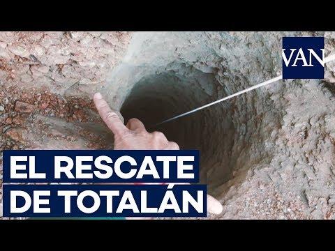 [RESCATE TOTALÁN] Hallada una bolsa de chucherías en el pozo donde cayó Yulen