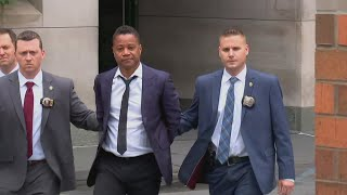 Download Actor Cuba Gooding Jr. led by police in handcuffs Video
