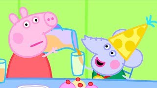 Download Peppa Pig Official Channel | Peppa Pig Helps Out at Edmond Elephant's Birthday Party Video