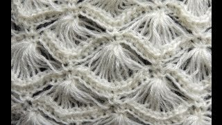 Download Crochet : Punto Abanico # 4 Video