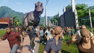 Download All Dinosaurs Escape!!!! - Jurassic World Evolution part 05 (FINALE) Video