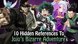 Download 10 References To Jojo's Bizarre Adventure Hidden In Other Works! Video