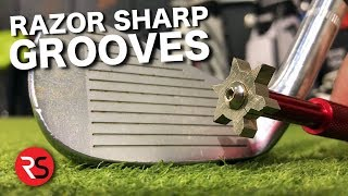 Download I SHARPENED MY GOLF GROOVES!!!!! Video