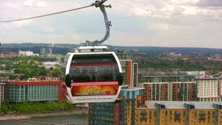 Download Emirates Air Line - Thames Cable Cars - London Landmarks - High Definition (HD) YouTube Video Video