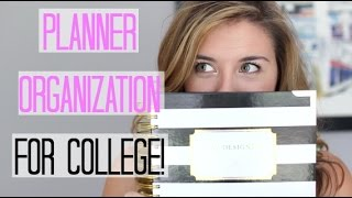Download How To Stay Organized In College + Planner Organization! Video