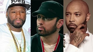 Download 50 Cent Threatens Joe Budden Over Eminem Comments... ″I Owe You An A** Whooping Joe″ Video