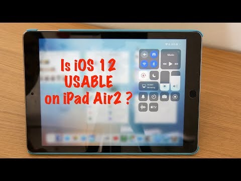 How well does iOS12 run on an aged iPad Air2?