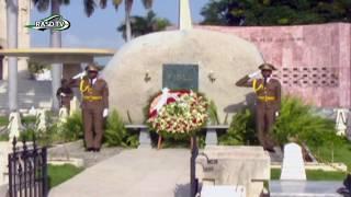 Download Brahim Gali rinde tributo a Jose Marti y a Fidel Castro en Santiago de cuba Video
