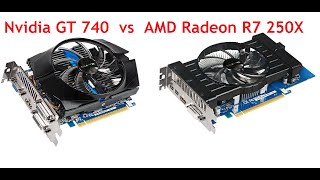 Download ✅AMD Radeon R7 250X vs Nvidia GeForce GT 740 Benchmark Review Video
