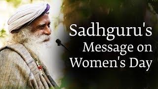 Download Let the Feminine Flow - Sadhguru on Women's Day Video