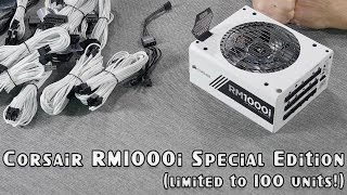 Download Corsair RM1000i Special Edition WHITE - limited to 100 units! Video