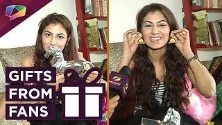 Download Sriti Jha Receives Birthday Gifts From Her Fans | Exclusive | India Forums Video