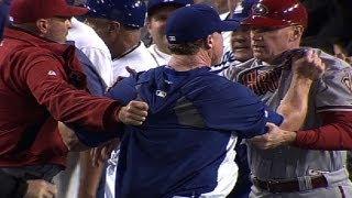 Download D-backs, Dodgers brawl twice in one night Video