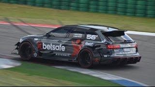 Download Jon Olsson's Audi RS6 DTM at the Track! Brutal Sound! Video