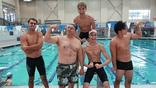 Download HILARIOUS SWIMMING COMPETITION! Video