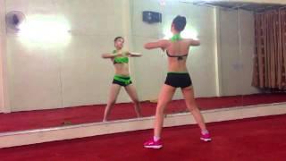 Download Thể dục thẩm mỹ - Bài giật 7p - Nhạc zumba. Video