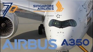 Download SQ633 Singapore Airlines Airbus A350-900 Departure Haneda Tokyo International Airport Video