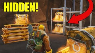 Download *NEW* Secret Loot Tunnels FOUND In Tilted Towers! Fortnite - Battle Royale! Video
