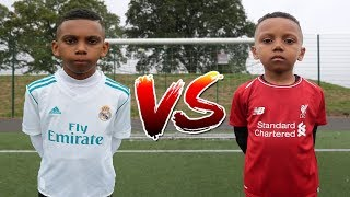 Download RONALDO vs MOHAMED SALAH FOOTBALL CHALLENGE!! Video