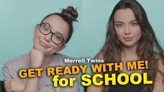 Download Get Ready with Me for School - Merrell Twins Video