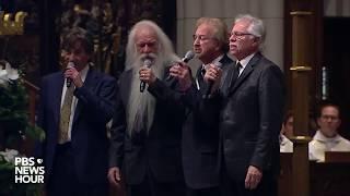 Download WATCH: Oak Ridge Boys sing 'Amazing Grace' at George H.W. Bush Houston funeral Video
