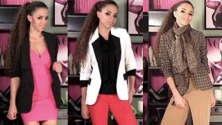 Download How to Wear a Blazer - 11 Outfits with Blazers! How to Style a Blazer Video