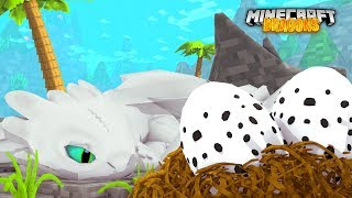 Download LIGHT FURY HAS HER *TWIN* BABIES!   Minecraft Dragons   Little Kelly Video
