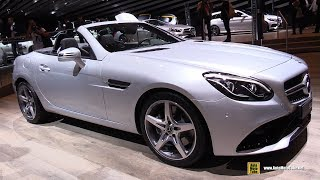 Download 2018 Mercedes SLC 200 - Exterior and Interior Walkaround - 2017 Frankfurt Auto Show Video
