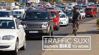 Download Morning Commute - Bike vs Car Video